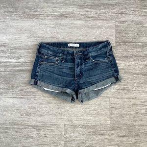 Abercrombie & Fitch Dark Wash Jean Short